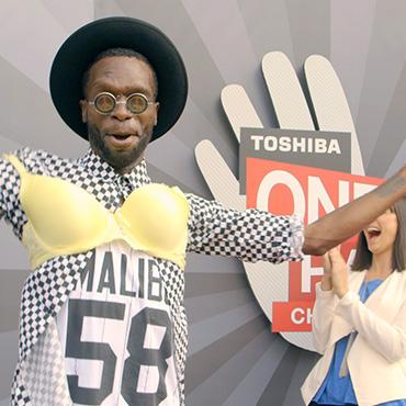 Toshiba One Hand Challenge